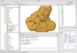 Compound visualized in 3D with Jmol